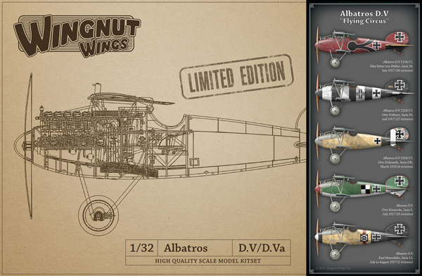 Albatros D.V Flying Circus - LIMITED EDITION