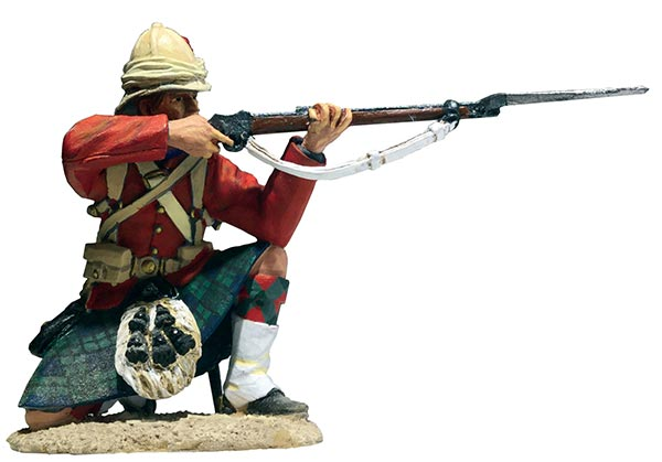 British 42nd Highlander Kneeling Firing No.1