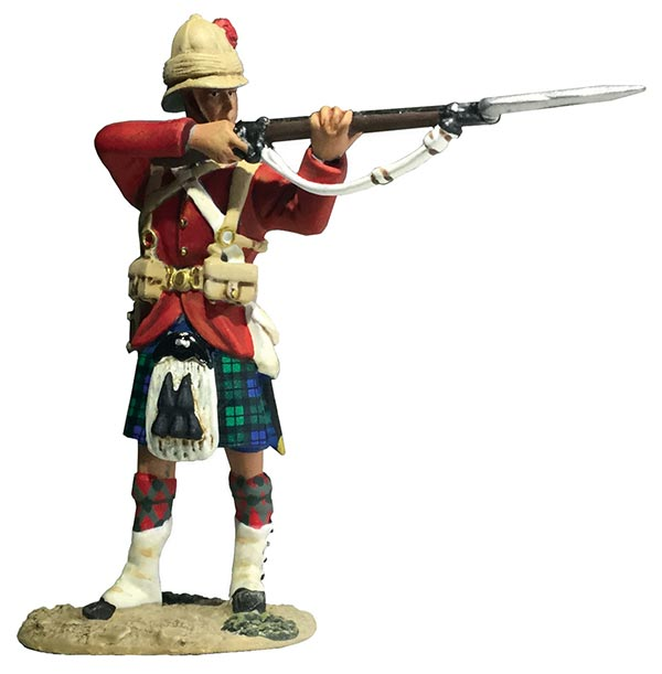 42nd Highlander Standing Firing