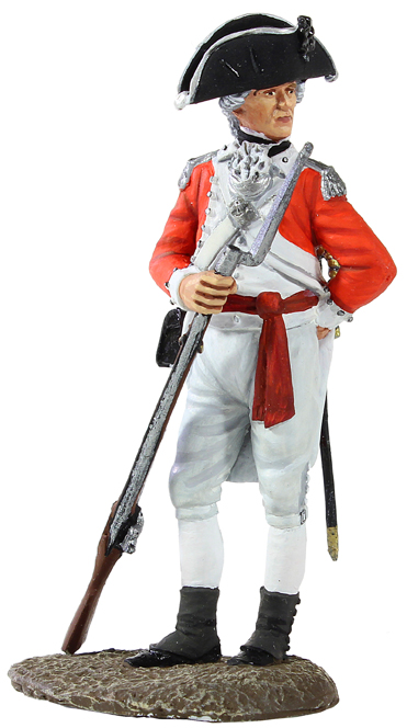 Jack Tars & Leathernecks Collection: British Marine Officer, 1780