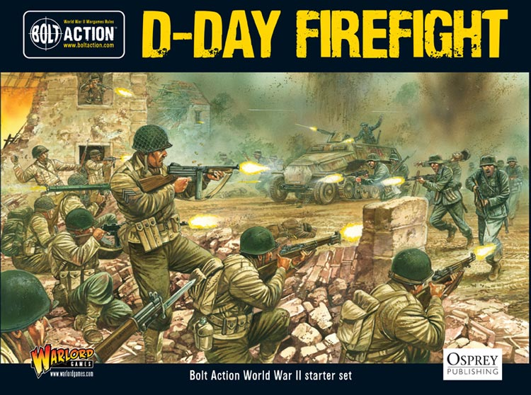 D-Day Firefight: Bolt Action Starter Game