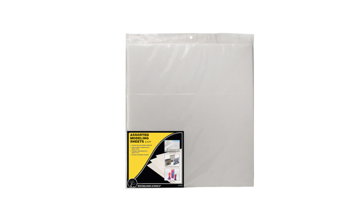 Assorted Modeling Sheets 4pcs