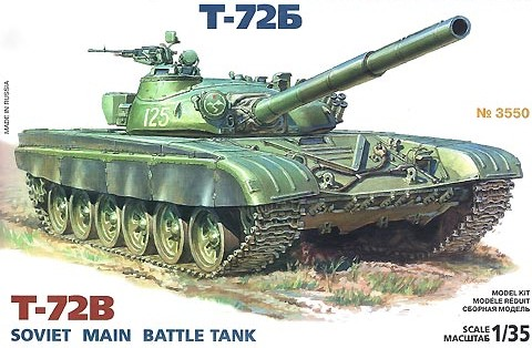 Soviet T72B Main Battle Tank