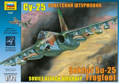 Su25 Frogfoot Soviet Attack Aircraft