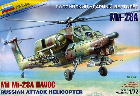 Russian Mi28A Havoc Attack Helicopter