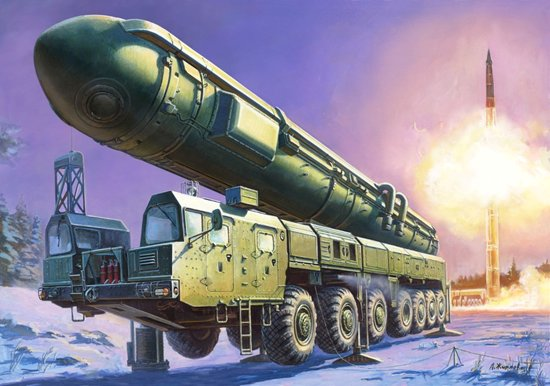 Russian Topol M Missile Launcher