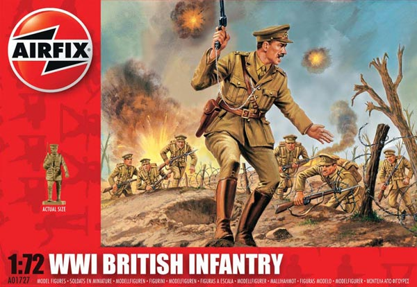 WWI British Infantry - 2018 Reissue