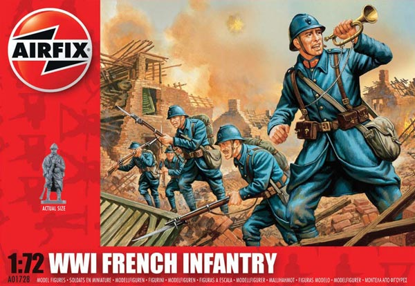 WWI French Infantry - 2018 Reissue