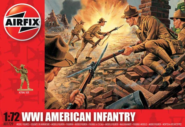 WWI American Infantry - 2018 Reissue