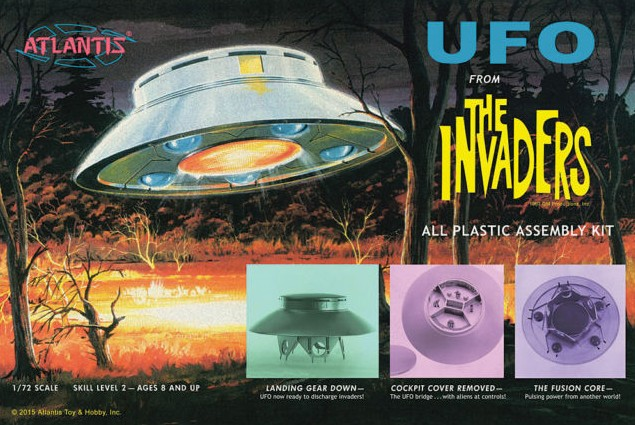 UFO from Classic TV The Invaders Reissue