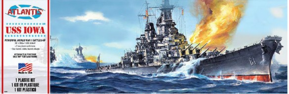 1/535 USS Iowa Battleship
