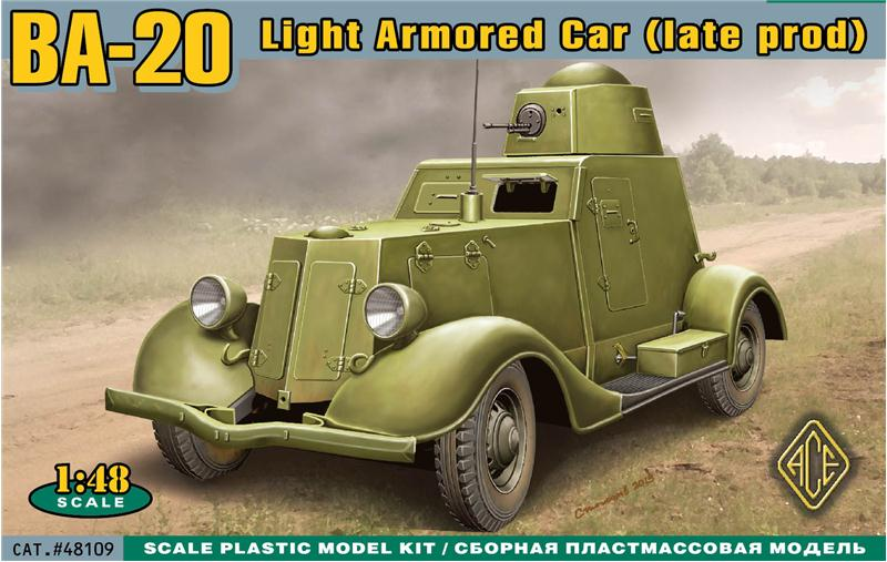Ba20 Late Production Light Armored Car