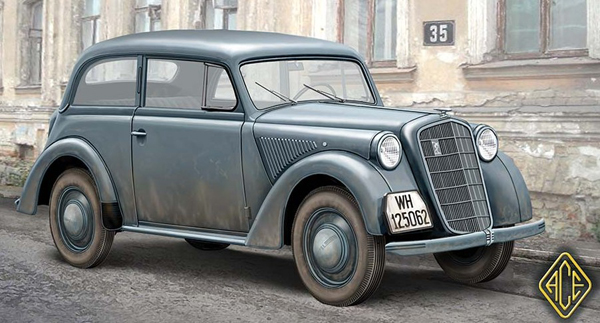 Olympia Model 1937 Saloon Staff Car