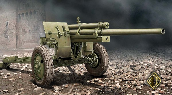 US M5 3 inch Anti-Tank Gun w/M1 Carriage