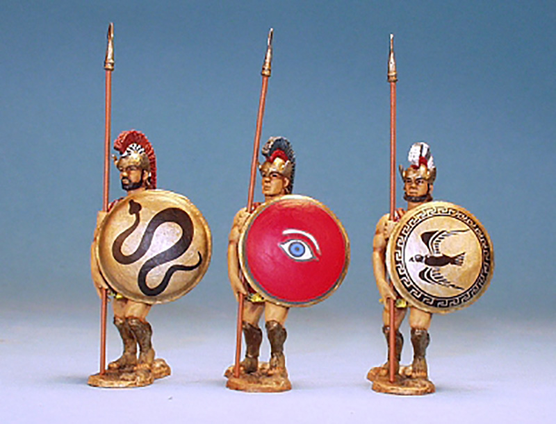 ANCIENT GREEK PHALANX SET4 ACG04 - 1 AVAILABLE OOP
