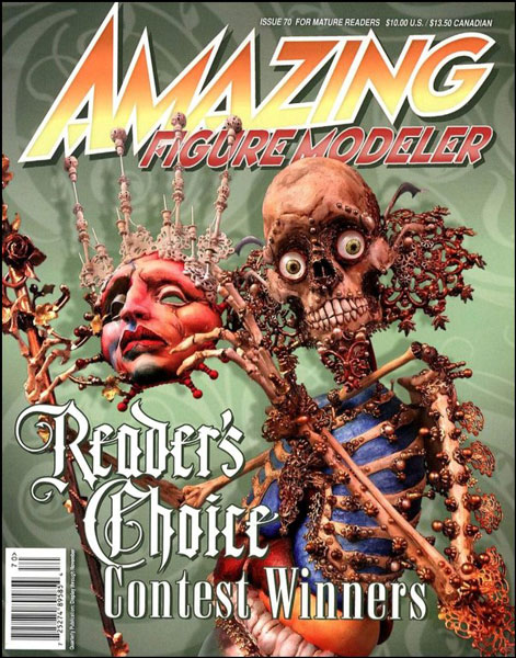 Amazing Figure Modeler no. 70 - Readers Choice