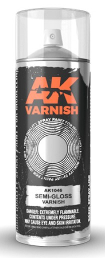 Semi-Gloss Lacquer Varnish 400ml Spray