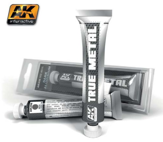 True Metal Wax Dark Aluminum 20ml Tube
