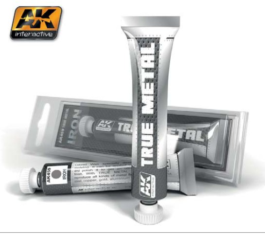 True Metal Wax Iron 20ml Tube