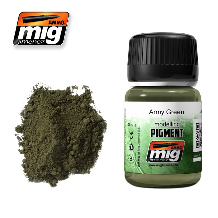 Pigments: Army Green