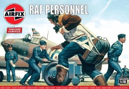WWII RAF Personnel Figure Set - 2019 Reissue