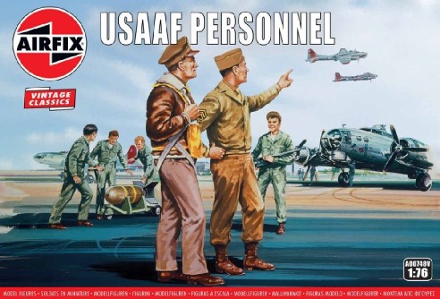 WWII USAAF Personnel Figure Set - 2019 Reissue