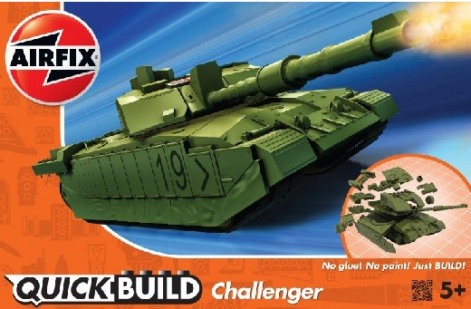 Quick Build Challenger Tank (Snap)