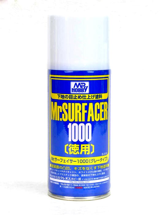Mr. Surfacer 1000 - Gray - Spray - 170ml