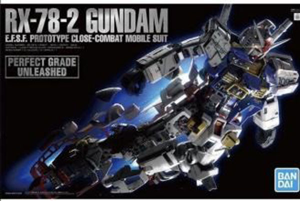 Perfect Grade Unleashed Series: RX78-2 GundamEFSF Prototype Close-Combat Mobile Suit