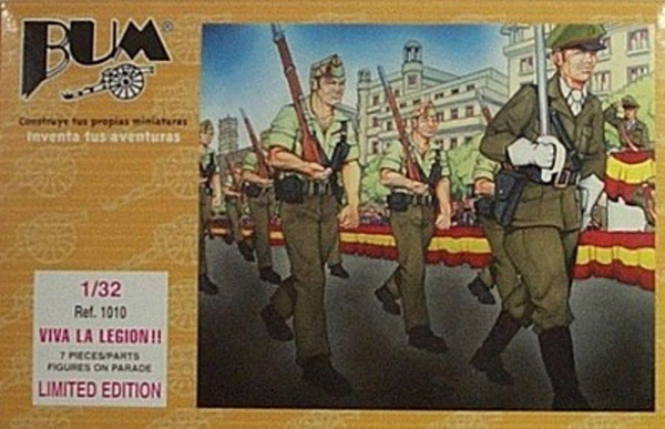 Bum 1010  Viva La Legion Soldiers With Rifles Marching ONLY 3 AVAILABLE