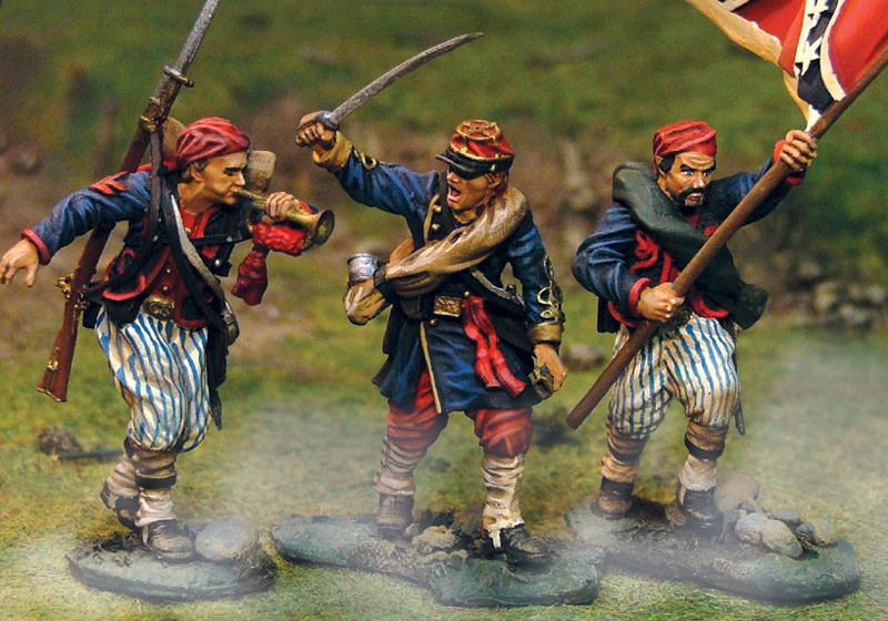 CSA WHEATS TIGER ZOUAVES COMMAND #CS00294-1 AVAILABLE OOP