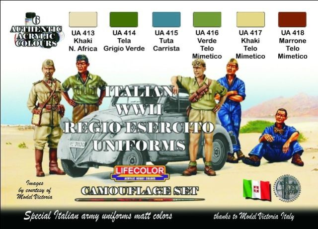 World War II Camouflage Italian Uniforms