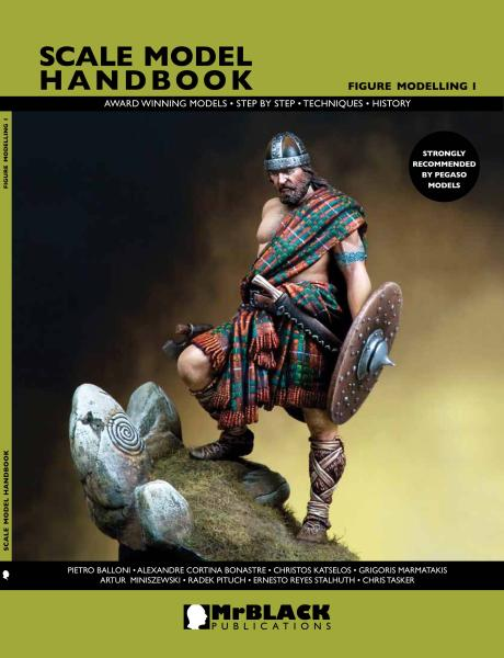 Mr. Black Scale Model Handbook Figure Modeling 1