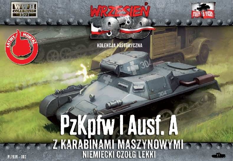 WWII PzKpfw I Ausf A German Light Tank