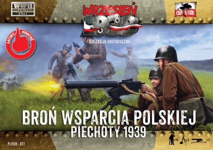 WWII Polish Infantry Support Weapons With 15 Crew