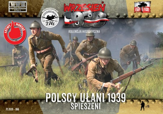 WWII Polish Uhlans on Foot
