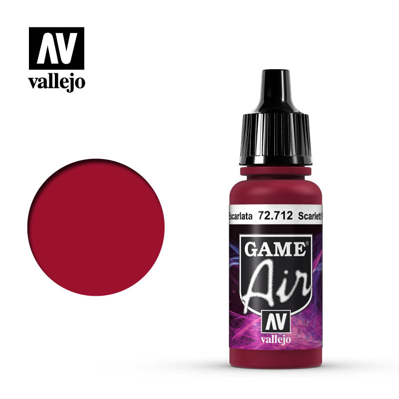 Game Air Scar Red 17ml Bottle
