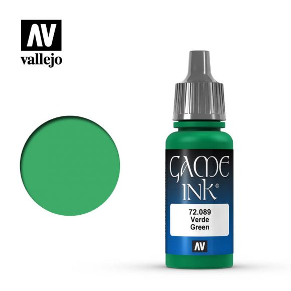 Game Color Green Ink