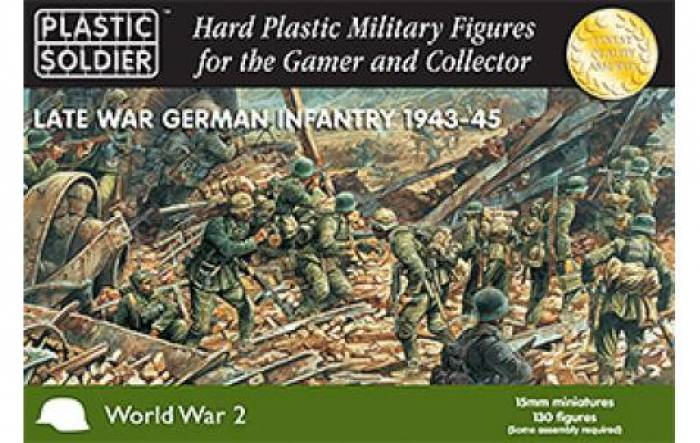 WWII German Infantry Late War 1943-45