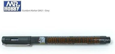 Gundam Brush Type Grey Acrylic Paint Marker