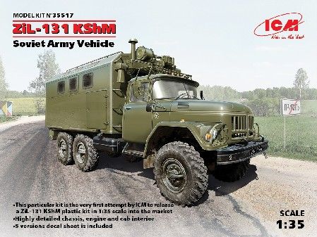 ZiL131 KShM Soviet Army Vehicle
