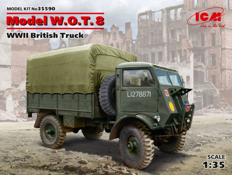 WWII British Model WOT 8 Truck