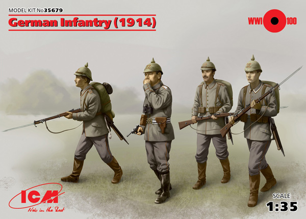 WWI German Infantry 1914