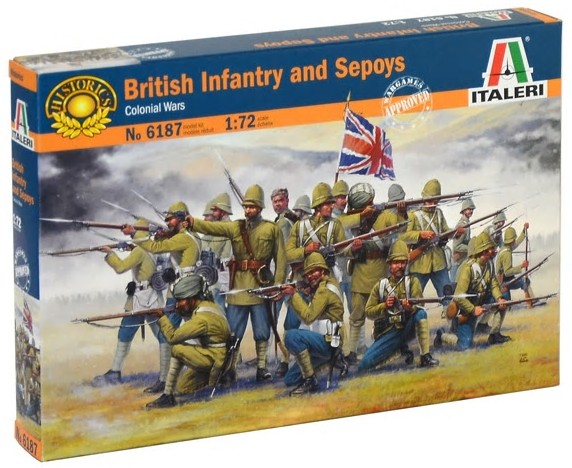 British Infantry & Sepoys Soldiers Colonial Wars 2018 Reissue