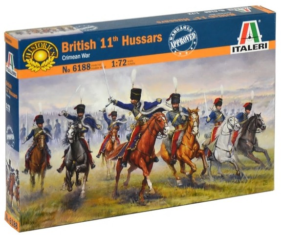 British 11th Hussars Soldiers Crimean Wars 2018 Reissue