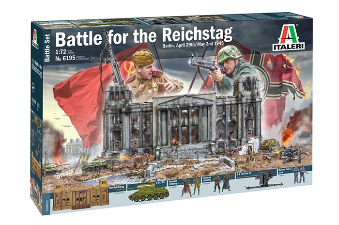 DIORAMA SET: BERLIN 1945 - BATTLE FOR THE REICHSTAG