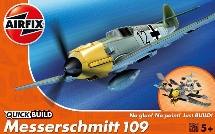 Quick Build Messerschmitt Bf109 Fighter (Snap)