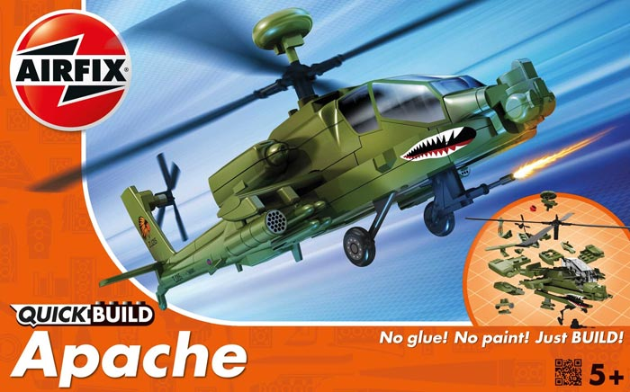 Quick Build Apache Helicopter (Snap)