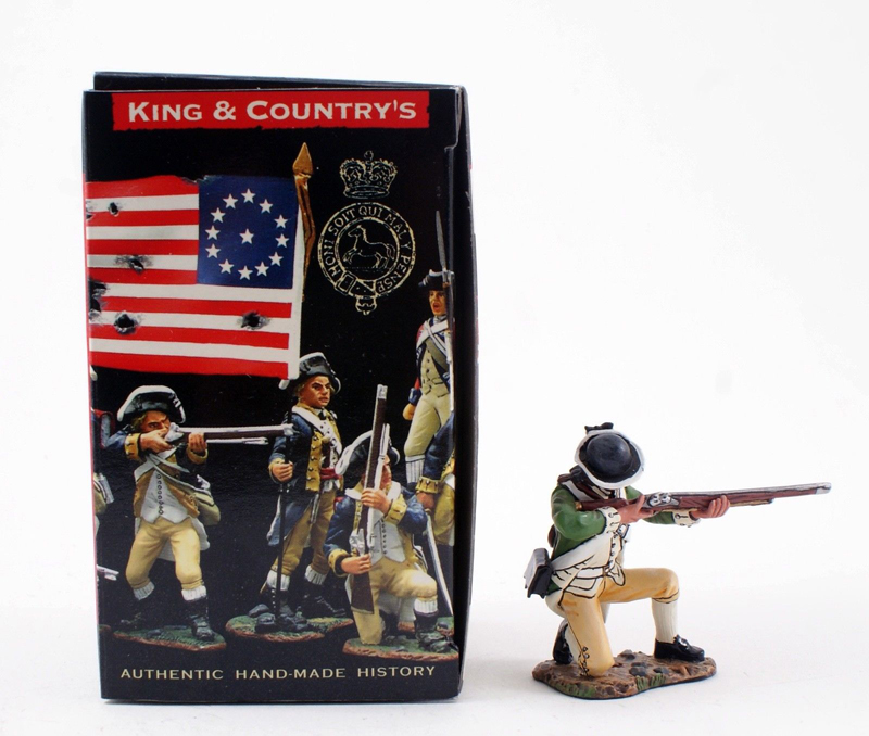 KING & COUNTRY AR052 AMERICAN REVOLUTION CONTINENTAL MARINE 1 AVAILABLE OOP
