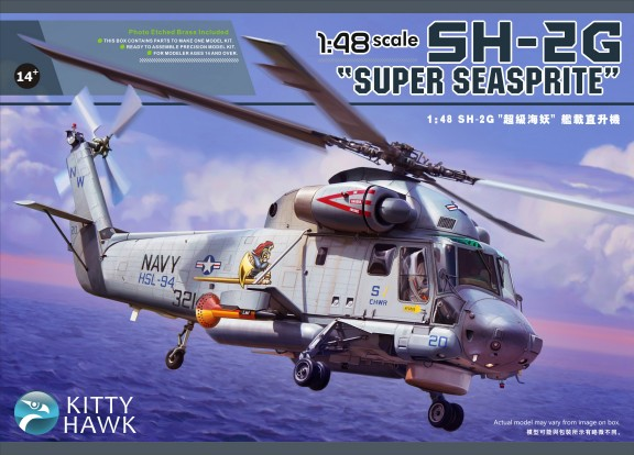 SH2G Super Seasprite USN Helicopter